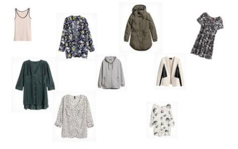 Collage Klamotten